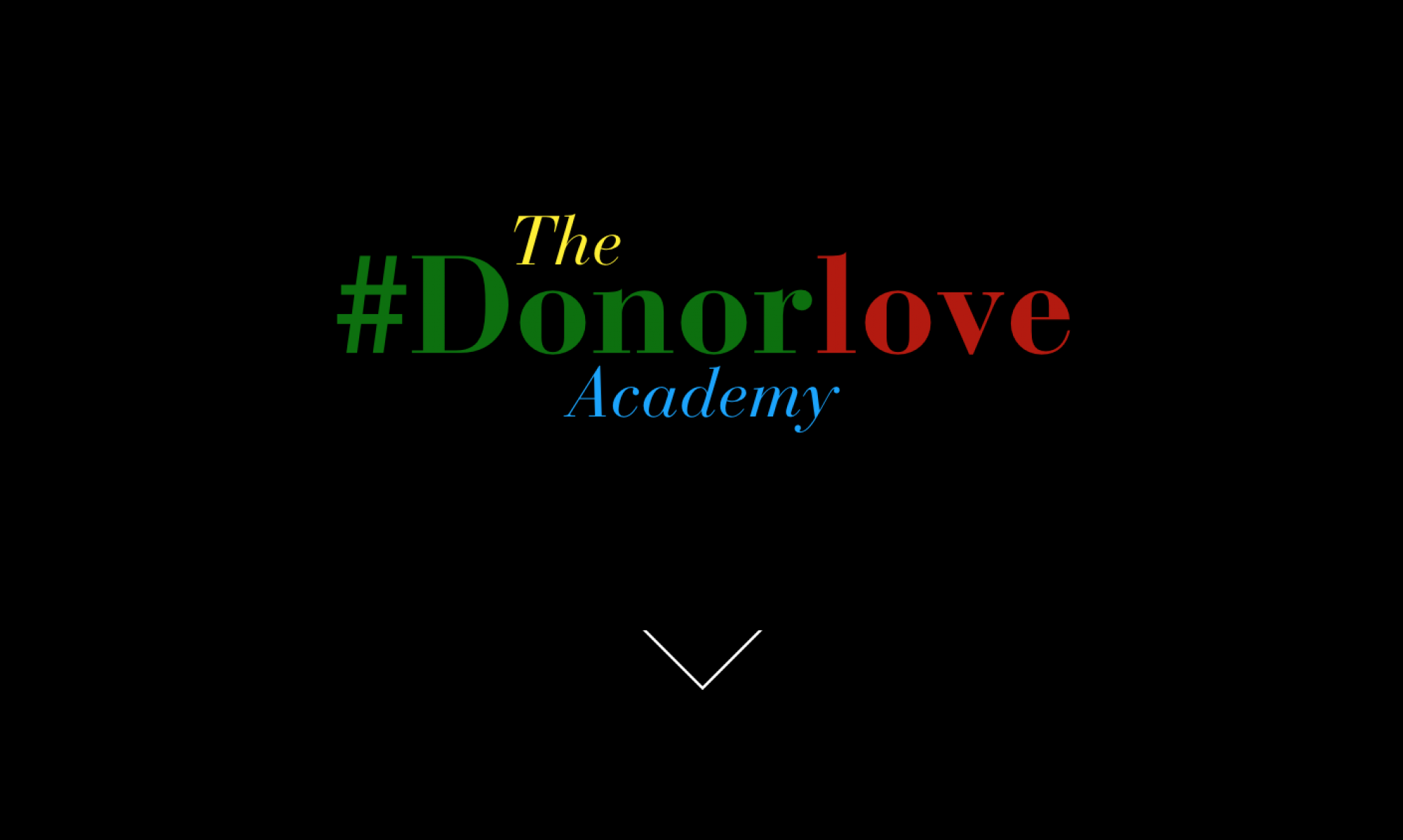 Donor Love Academy